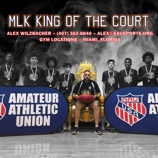 AAU MLK King of the Court