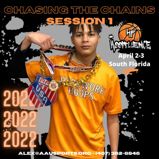 AAU Chasing the Chains Session 1