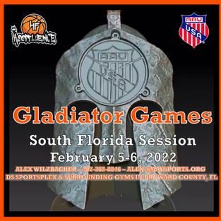 AAU Gladiator Games South Florida