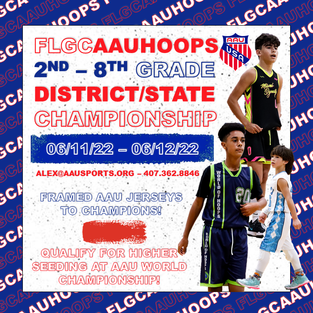 2nd - 8th AAU State Championship