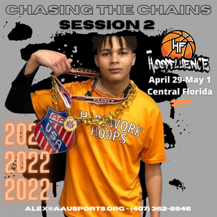 AAU Chasing the Chains Session 2