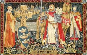 King Arthur - pre Raphaelite style.