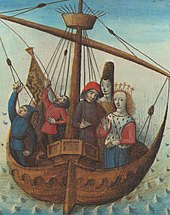 Tristan and Isolde enroute to Cornwall.