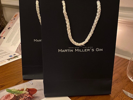 London Restaurant Festival - Adam Handling Chelsea in Partnership with Martin Millers Gin