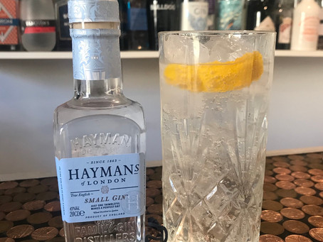 Hayman's Small Gin @ Bills