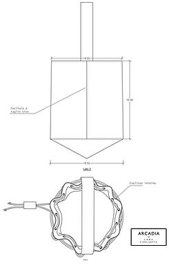 techical drawings bag designer by irma cipolletta