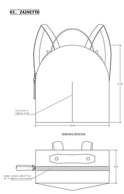 technical drawings designerbag designbag irma cipolletta