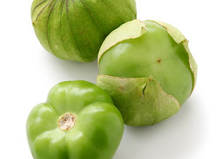 green tomatillo fruits, salsa verde ingr