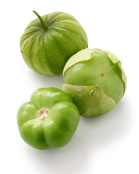 green tomatillo fruits, salsa verde ingr