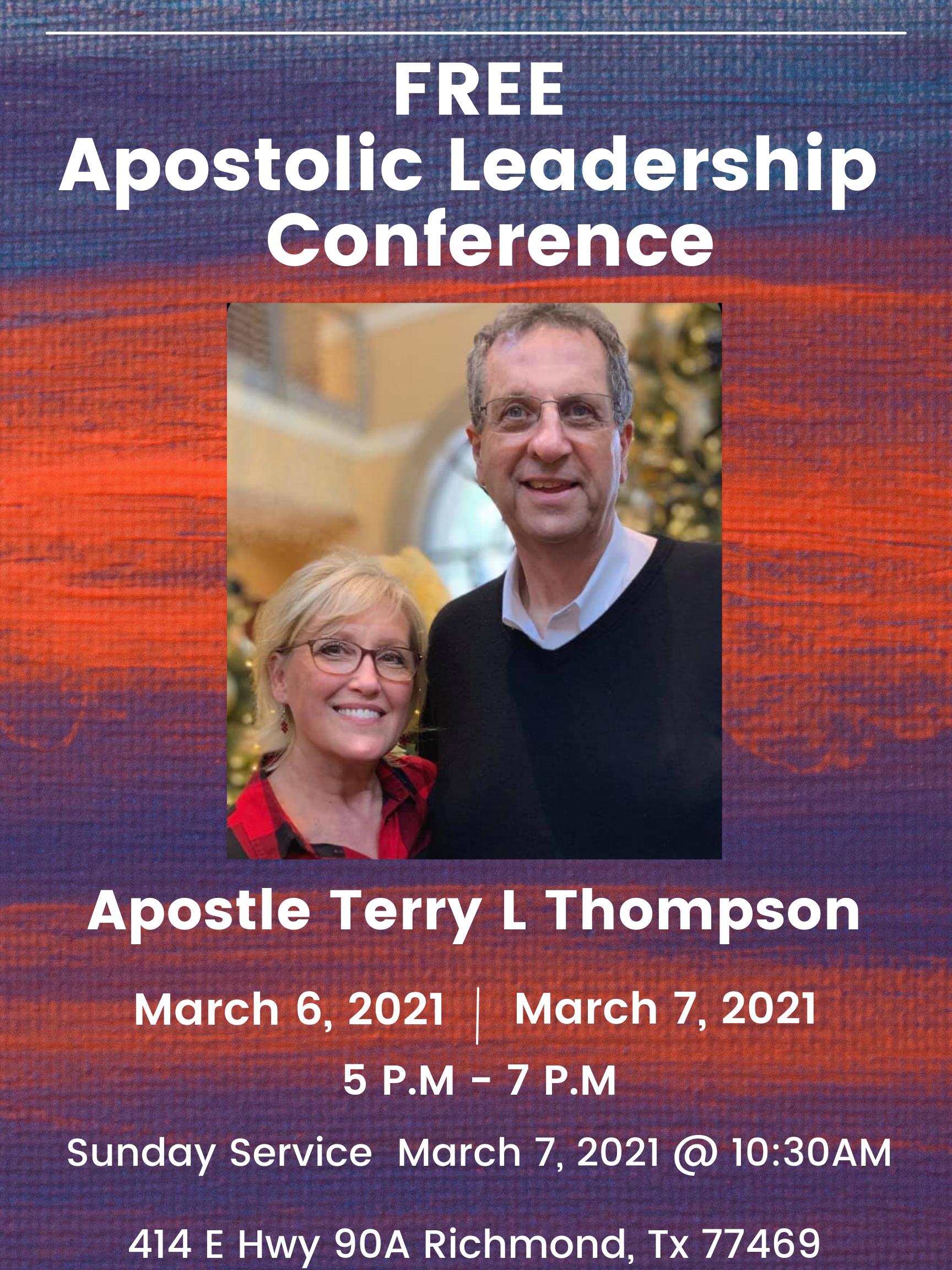 Free Apostolic Leadership Conference