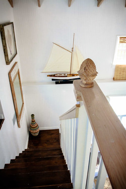 Stairs to loft style bedroom