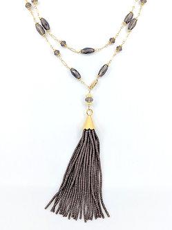 Beaded Tassel Necklaces