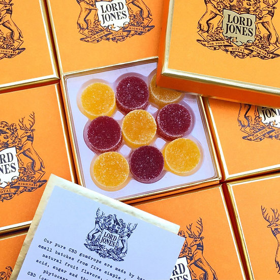Lord Jones All Natural Old Fashioned High CBD Gumdrops