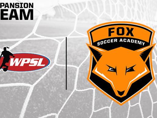 Fox Soccer Academy Joins The WPSL