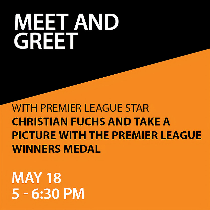 Meet and Greet with Premier League Star