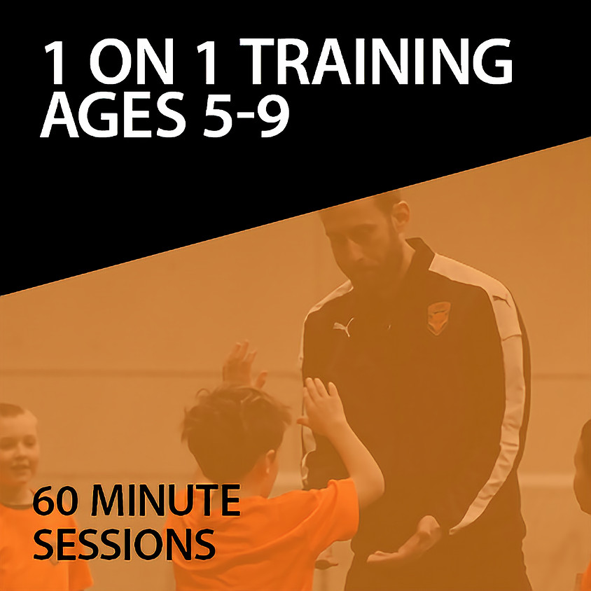 1 on 1 Training For Ages 5-9