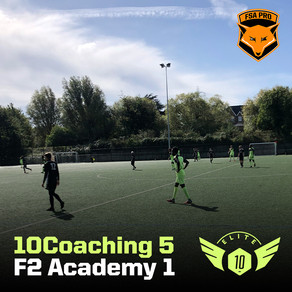 10Coaching vs F2 Academy (Friendly Match)