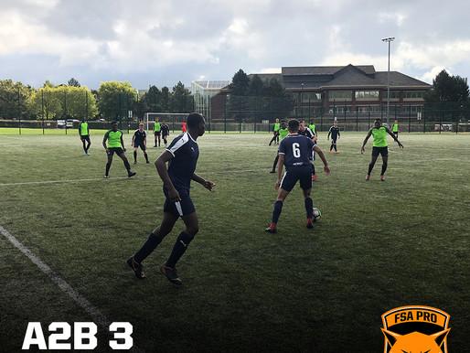 A2B vs FSA PRO 3-6 (Cat. 2)