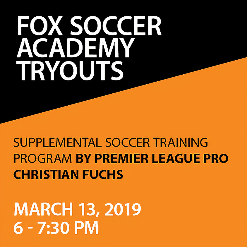 Fox Soccer Academy Try Outs