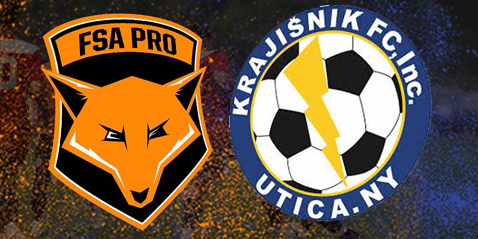 FSA PRO vs Krajisnik FC