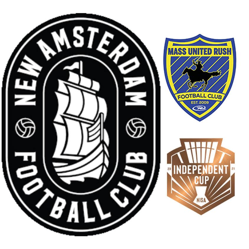 New Amsterdam FC vs Mass United Rush