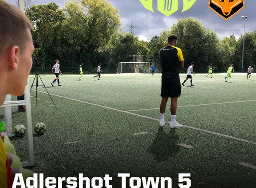 Adlershot Town vs 10Coaching 5-5 (Cat. 1)