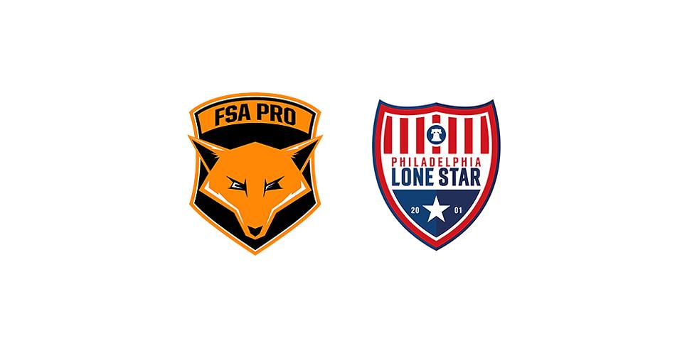 FSA PRO vs Philadelphia Lone Star FC