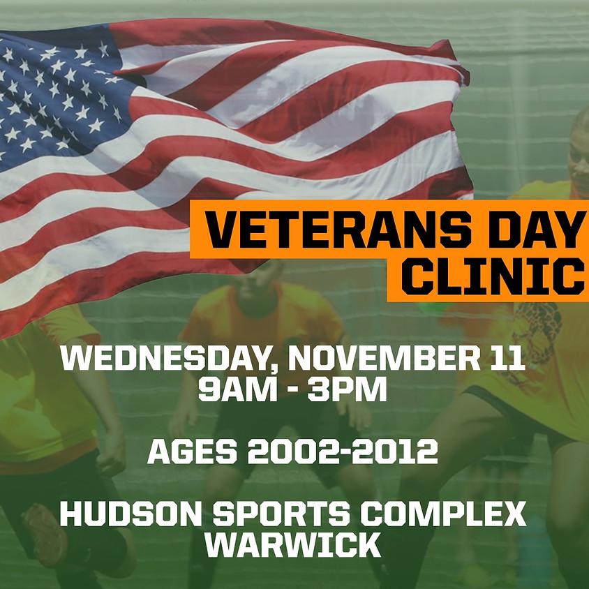 Veterans Day Soccer Clinic