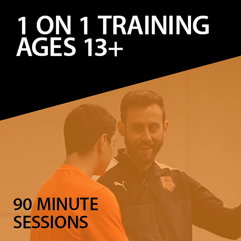 1 on 1 Training For Ages 13+