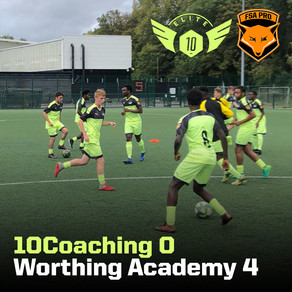 10Coaching vs Worthing Academy 0-4 (Cat. 1)