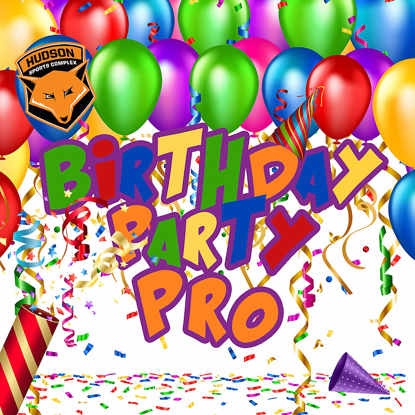 Birthday Party - All-Star Package