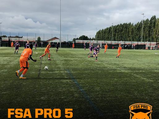 FSA PRO vs Loughborough College 5-2 (Cat. 1)