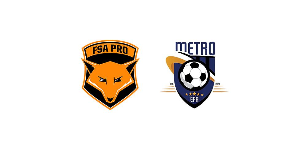 FSA PRO vs EFA Metro
