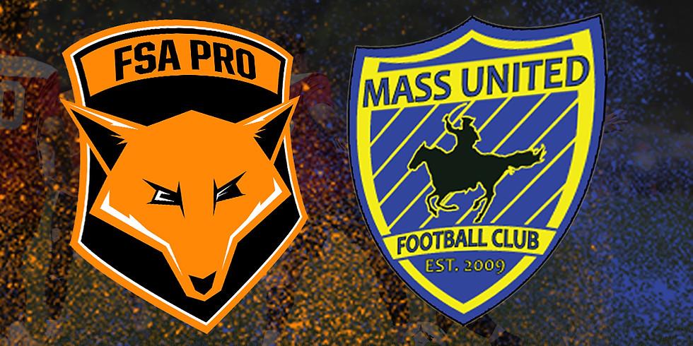 FSA PRO vs Mass United FC