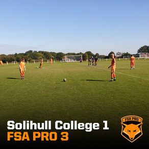 Solihull College vs FSA PRO 1-3 (Cat. 1)