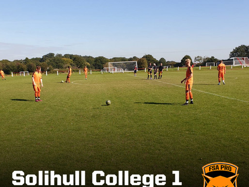 Solihull College vs FSA PRO 1-3 (Cat. 1)
