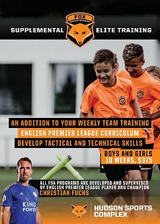 Supplemental Training Flyer Front Print.