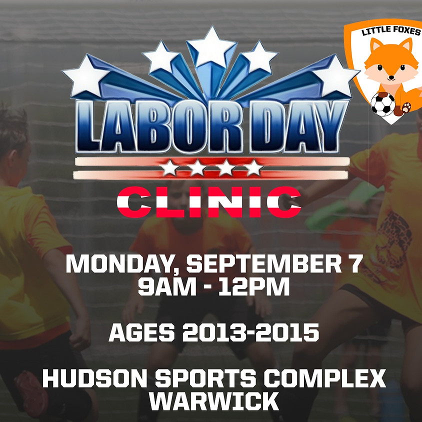 Little Foxes Labor Day Soccer Clinic