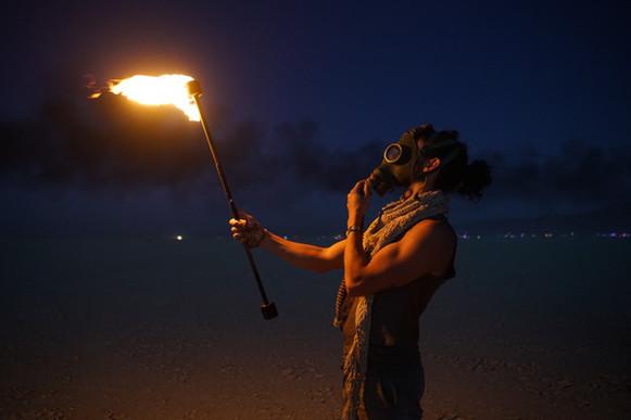 Vitantonio Spinelli Burning Man Artefact