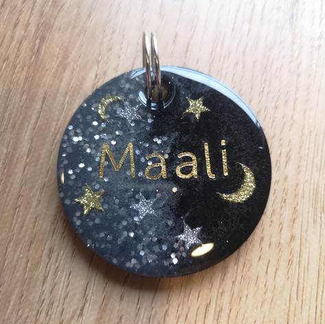 Custom Tag for the Moon obsessed!