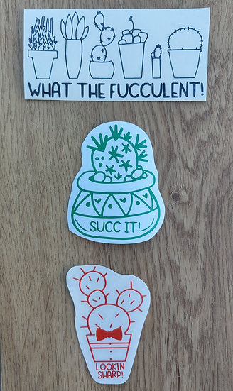 Plant Themed Decals
