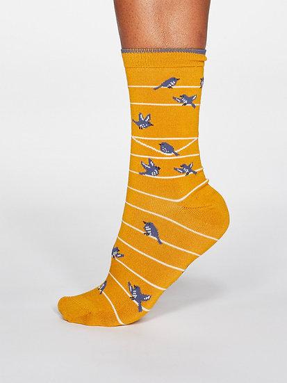 THOUGHT Bird Socks
