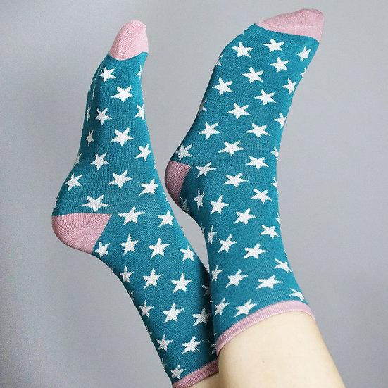 POM Star Socks