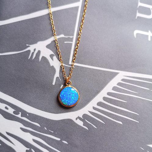 YARON MORHAIN Opal Pendant Necklace