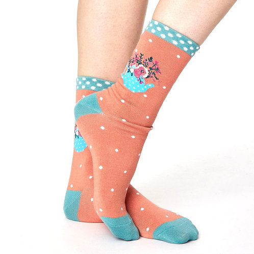 THOUGHT Flora Bamboo Socks
