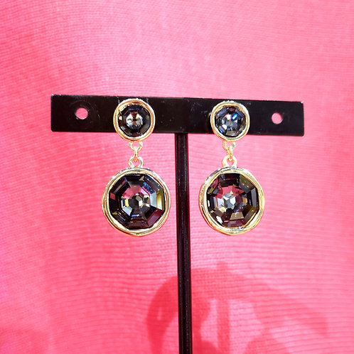 UNO DE 50 Double Trouble Drop Earrings