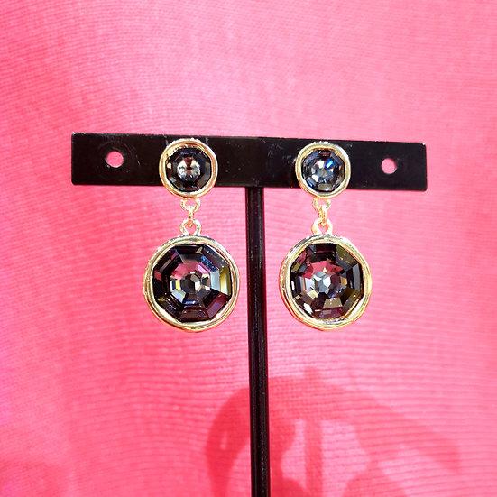 UNO DE 50 Double Trouble Drop Earrings