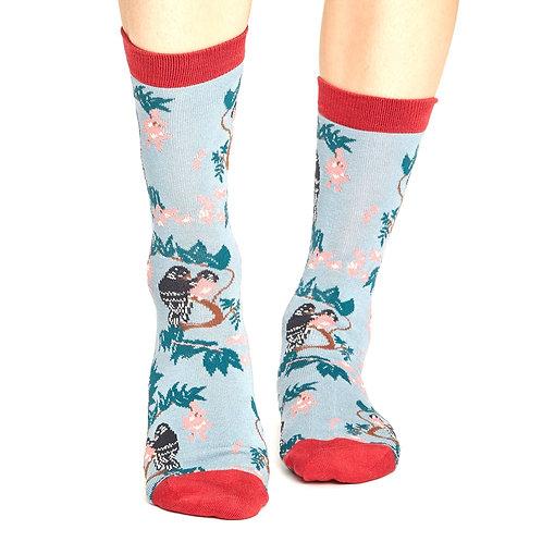 THOUGHT Lovebirds Bamboo Socks