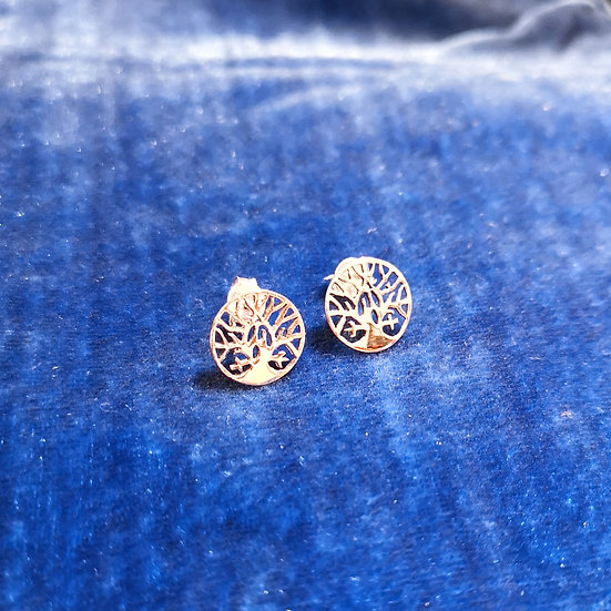 SIREN Tree of Life Stud Earrings