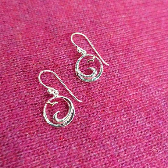 SEA GEMS Seabirds Earrings